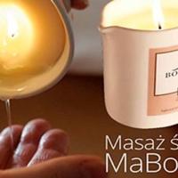 Masaż naturalną świecą na dłonie