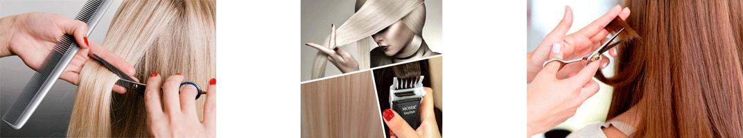 Strzyżenie polerowanie włosów