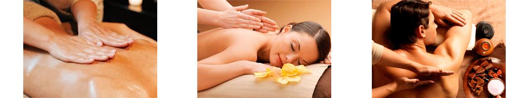 masaż całego ciała