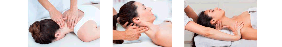 neck area and head massage